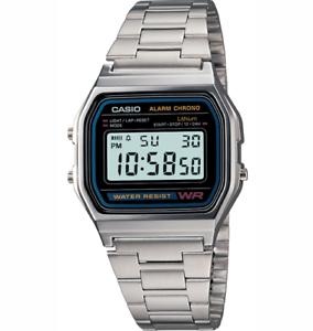 9634abf60dfa La imagen se está cargando Reloj-Para-hombres-Casio -Classic-A158WEA-1DF-Digital-