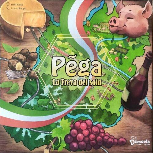 PEGA LA FREVA DEL SOLD gioco da tavolo IN ITALIANO monopoly DIALETTO REGGIANO et