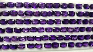 AAA-Natural-Purple-African-Amethyst-cushion-Wholesale-Lot-Faceted-Gemstone