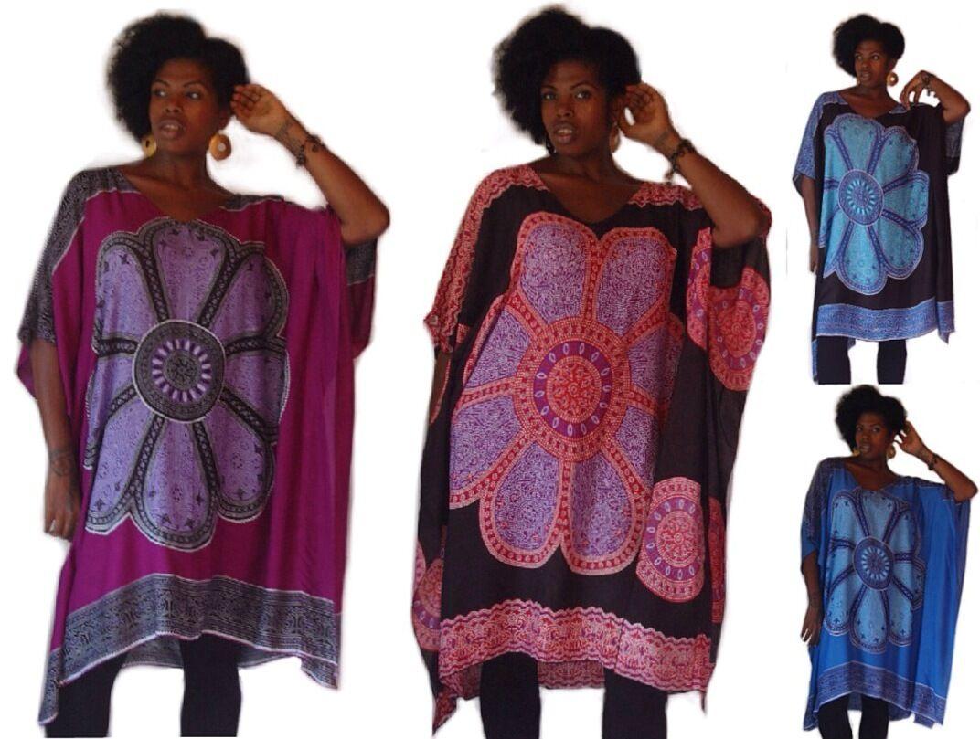 U pick Farbe poncho top v neck  OS M L XL 1X 2X 3X beautiful art