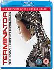 Terminator - The Sarah Connor Chronicles - Series 1-2 (Blu-ray, 2009, 8-Disc Set, Box Set)