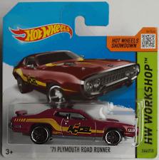 Hot Wheels - ´71 / 1971 Plymouth Road Runner bordeaux Neu/OVP
