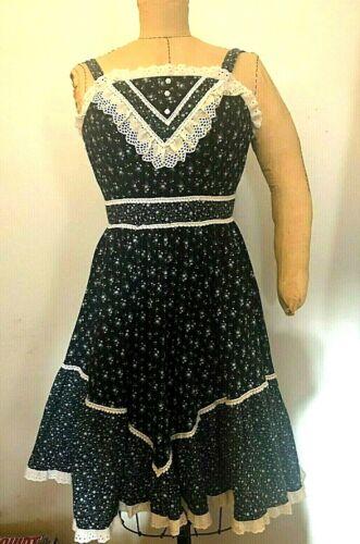 Vintage Candy Jones homespun calico print sundress