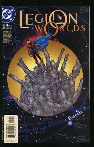 LEGION WORLDS #1-6 NEAR MINT COMPLETE SET 2001