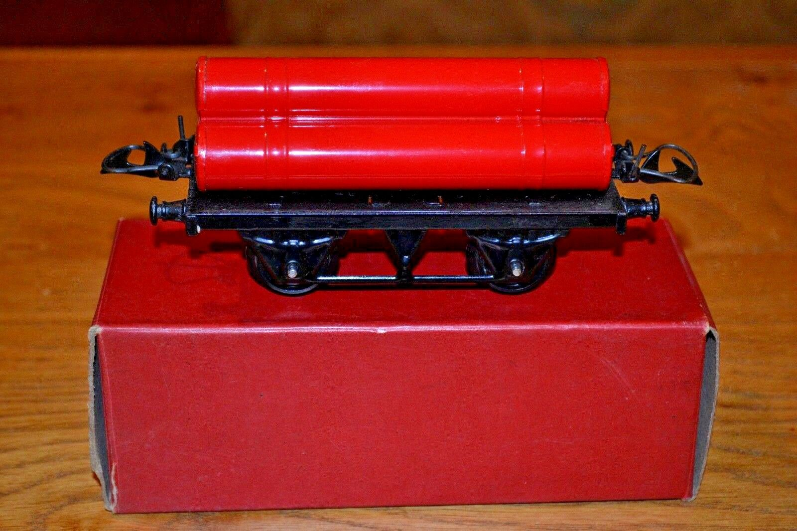 Hornby Series O Gauge; Gas Cylinder Wagon Original Box; All Mint Condition