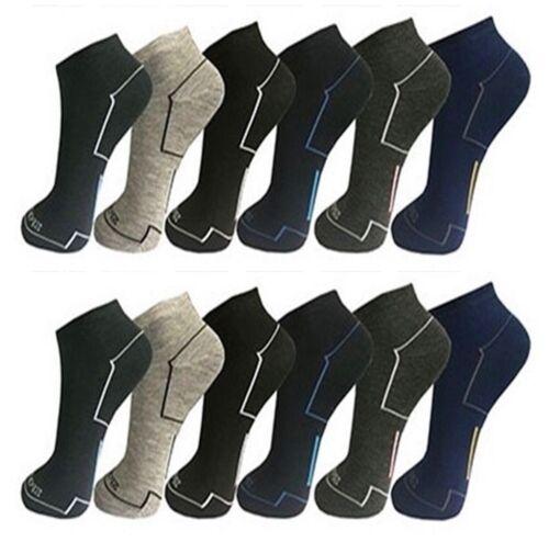 12 39-42 24 Paia di Calze da Donna Sneaker Sport Tempo Libero Cotone Lavoro 35-38 6