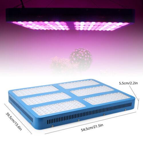 600W-3000W LED Grow Light Panel Lamp Full Spectrum for Indoor Hydroponics Plants