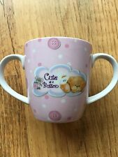 Cute As A Button Baby First Cup