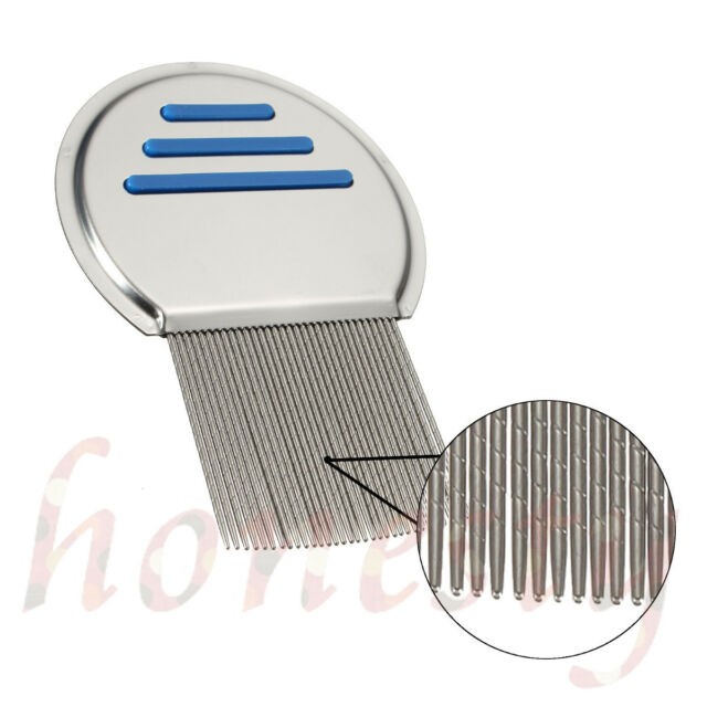 1pc Lice Treatment Comb For Head Lice/Nit Lice Flea Removal Stainless Steel Lin