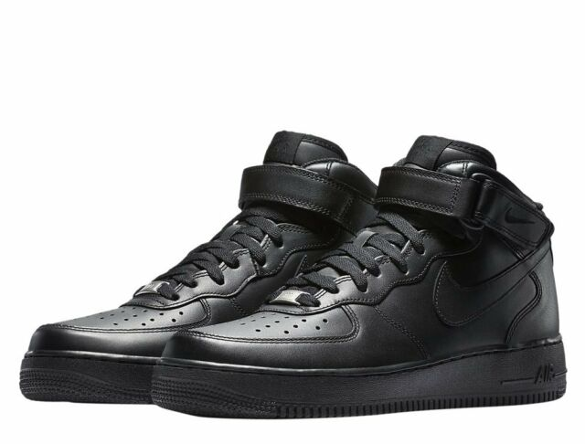 huge discount 3afb7 fab0d Nike Air Force 1 Mid 07 - Black