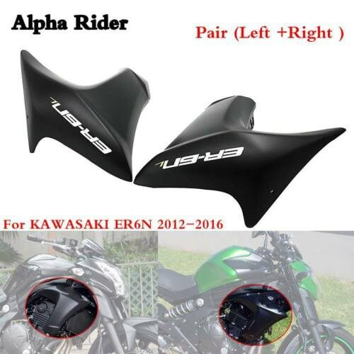 Pair Fairing Side Panel Cover Cowling Set For KAWASAKI ER-6N ER6N 2012 2013-2016