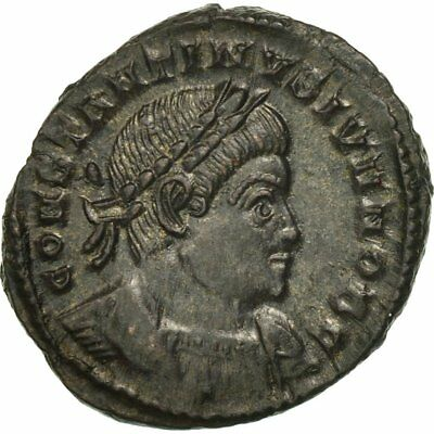 Bronzo Spl Lyons #506373 Constantine Ii Follis Qualified Ric:263p Up-To-Date Styling
