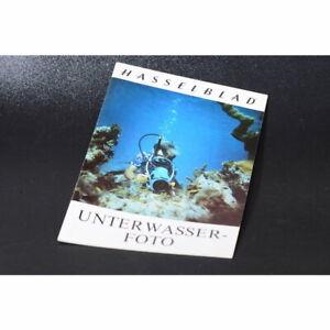 Hasselblad Unterwasserfoto Prospekt / Broschüre / Heft / Leaflet / Broschure DE