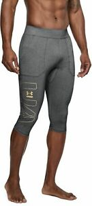b9b67c4f788596 Under Armour Men's UA Perpetual Compression 1/2 Leggings New 1306382 ...