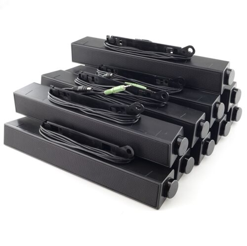 Lot of 10 Dell AX510 Multimedia Speaker Sound Bar CN-0C730C Original Used