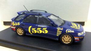 1-43-Subaru-Impreza-WRX-Sti-Version-2-II-555-Resin-Model-Car-Limited-no-box