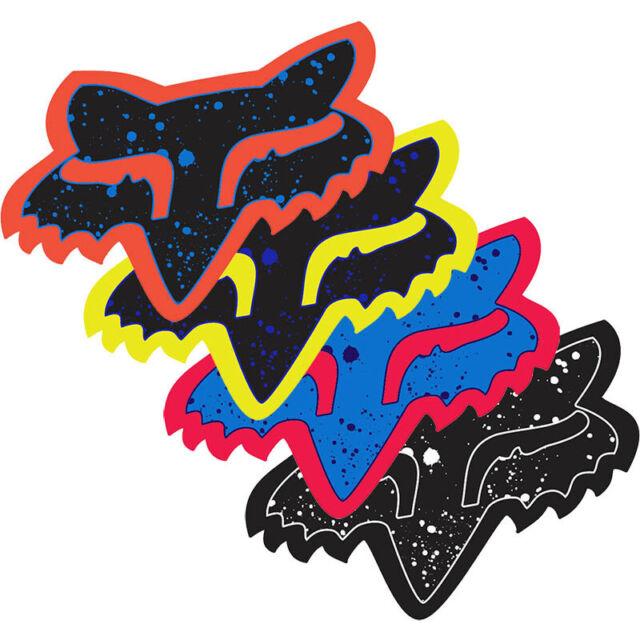 Fox Mens Splatter-4 Sticker