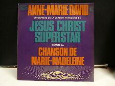 ANNE MARIE DAVID Jesus Christ Superstar Chanson de Marie Madelaine EPC 8020