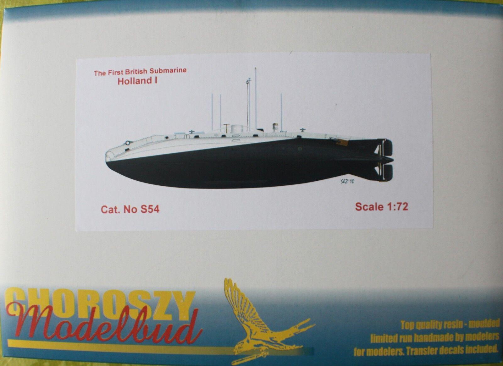 S54-The First British Submarine HOLLAND I-Chgoldszy-1 72
