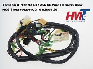 Details about Genuine Yamaha DT125MX DT125MXS Main Wiring Wire Harness on