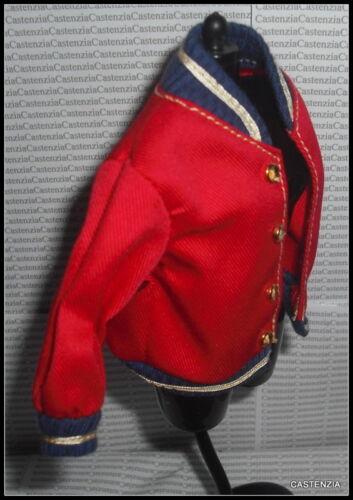 TOP BARBIE DOLL  ARIZONA JEAN COMPANY RED LONG SLEEVE JACKET COAT ACCESSORY