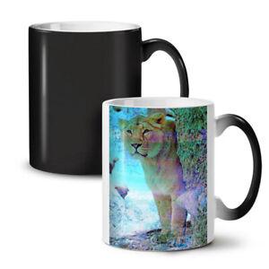 Tiger Wild Big Cat NEW Colour Changing Tea Coffee Mug 11 oz | Wellcoda