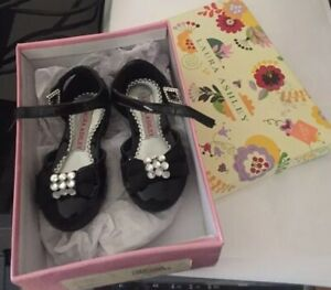laura Ashley Kids Shoes 5 With Box Great For Christmas