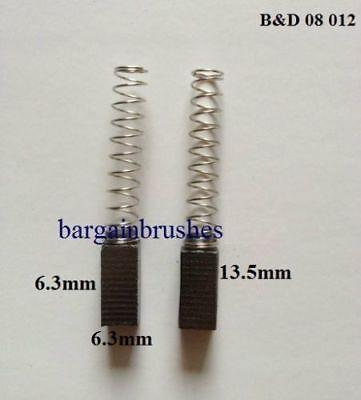 BLACK /& DECKER CARBON BRUSHES  KW713 KW715 KW750 LR400 P4402 P7102 P8401  C11