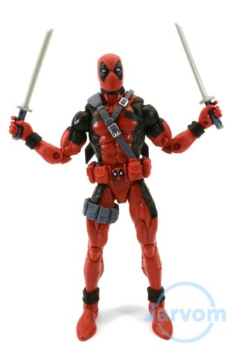Marvel Legends 6 Inch Sasquatch BAF Wave Red Comic Deadpool Loose Complete