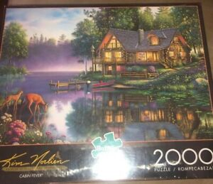 NEW 2000 PIECE JIGSAW PUZZLE CABIN FEVER FACTORY SEALED