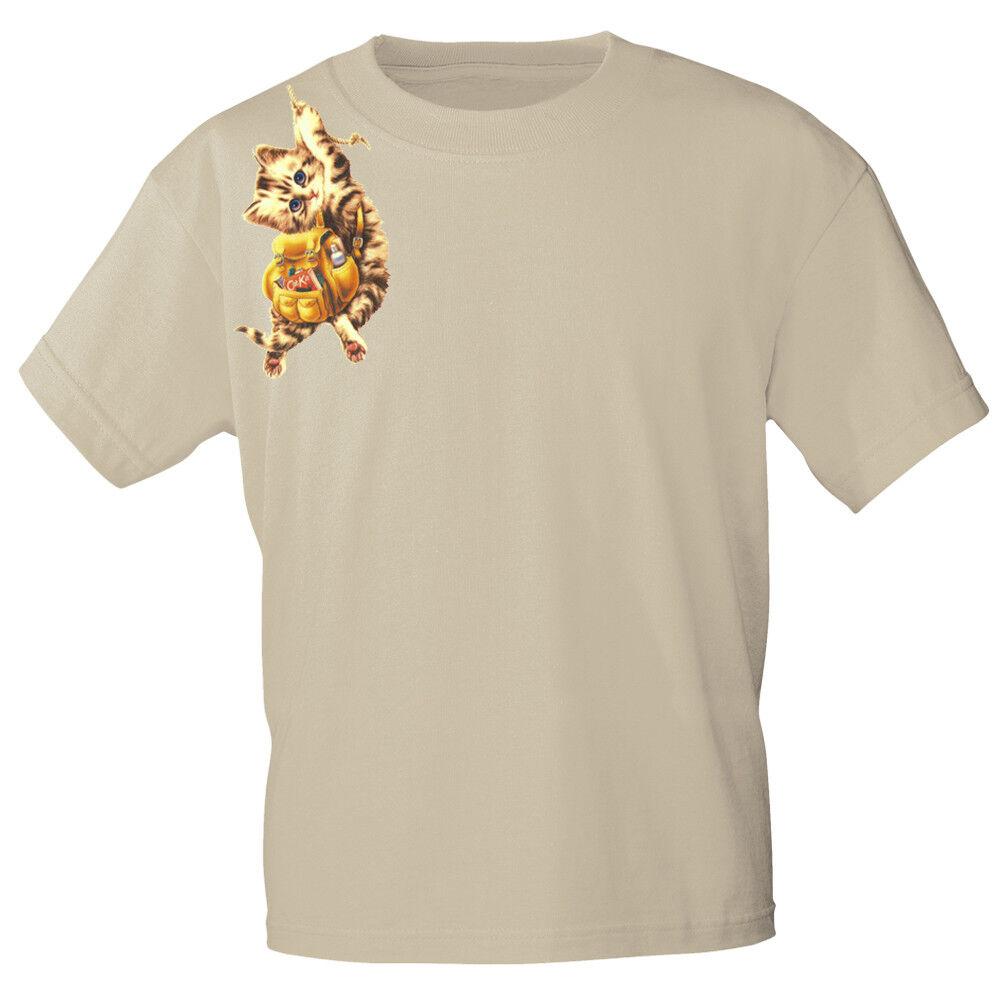 e1063749273bf Marcas t-shirt S M XL L XL M XXL camisetas con Print gato con ruckack ka191  ...