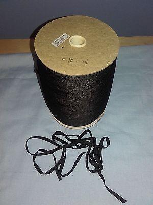 sewing work home Job Lot 914 Mtr reels of Black  6mm polyester Stay Tape craft