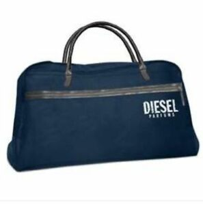 NEW-DIESEL-NAVY-BLUE-DUFFLE-WEEKEND-TRAVEL-OVERNIGHT-HOLDALL-SPORT-GYM-BAG