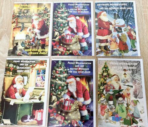 100x Weihnachtskarten Glückwunschkarten Grußkarten Weihnachten 22-8660 EF