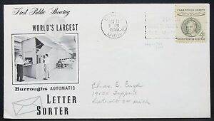 Champion-of-Liberty-US-Cover-FDC-Detroit-Reuter-4c-USA-First-Day-Cover-H-11029