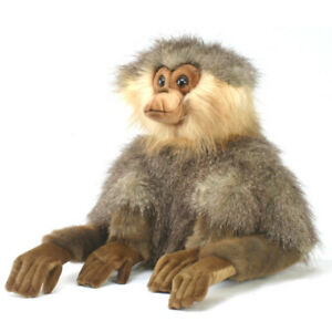 HANSA-GIBBON-SITTING-MONKEY-REALISTIC-CUTE-SOFT-ANIMAL-PLUSH-TOY-30cm-NEW