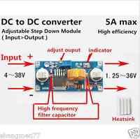 DC-DC 5V-36V to 3.3V 6V 12V 24V 5A Buck Step Down Converter Module Car Voltage