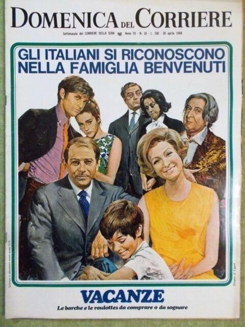 La Domenica del Corriere 30 Aprile 1968 Martin Luther King Divorzio Fiera Milano