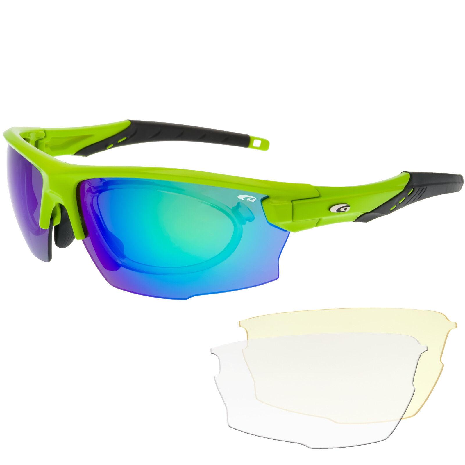 Radbrille Sportbrille für Brillenträger   verglasbarer rx rx rx optischer Einsatz 95c684