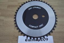 Compact Disc CD ChainRing 44t Silver Black BMX Cruiser Road Bike Sprocket