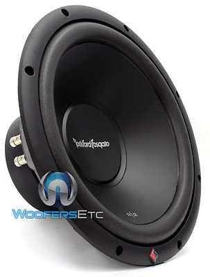 "R2D4-12 ROCKFORD FOSGATE 12"" SUB 500W DUAL 4-OHM CAR SUBWOOFER BASS SPEAKER NEW"