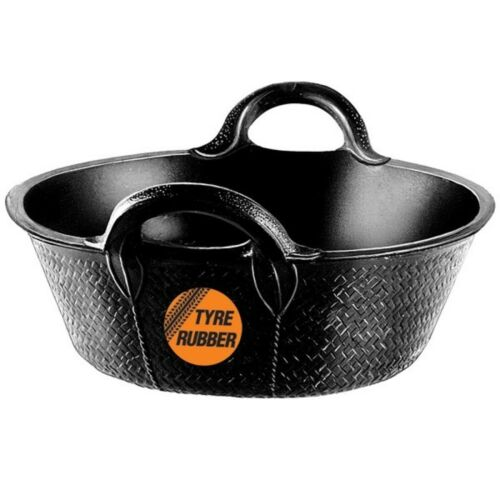 Faulks /& Cox KANGURO SKIP Feed BUCKET Durable Tyre Rubber Small 11l or Large 20l