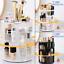 Makeup-Cosmetic-Rack-Holder-360-Degree-Rotating-Skin-Care-Organizer-Storage-Box thumbnail 1
