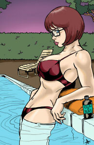 velma doo Sexy cartoon scooby