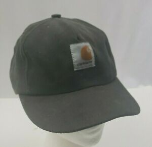 Carhartt-Child-Cap-Hat-Youth-Work-USA-Made-Greenish-Gray-Canvas-Little-Helper