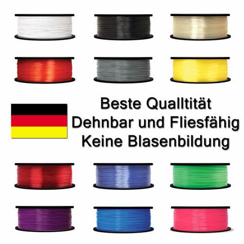 Schwarz Weiß Grau Blau Grün Alle Farben 800g Filament PLA 1.75mm für 3D Drucker