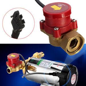 220V 120W 20mm Male Thread Connector Circulation Pump Water Flow Sensor Switch