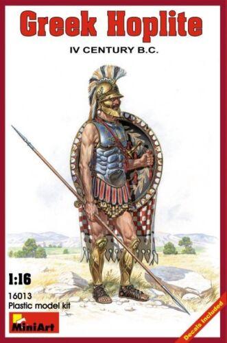 Miniart Greek Hoplite IV Century B.C 1:16 16013 Kunststoff Miniatur