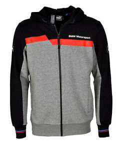 puma bmw msp motorsport kapuzenjacke hooded hoodie sweat. Black Bedroom Furniture Sets. Home Design Ideas