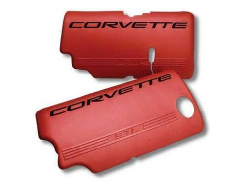 1999-2004 LS6 LS1 C5 Corvette Z06 Style RED Fuel Rail Driver /& Passenger Covers